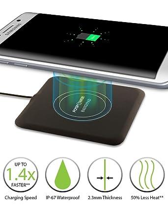 Amazon.com: Cargador inalámbrico, FosPower energypad 1,5 A ...