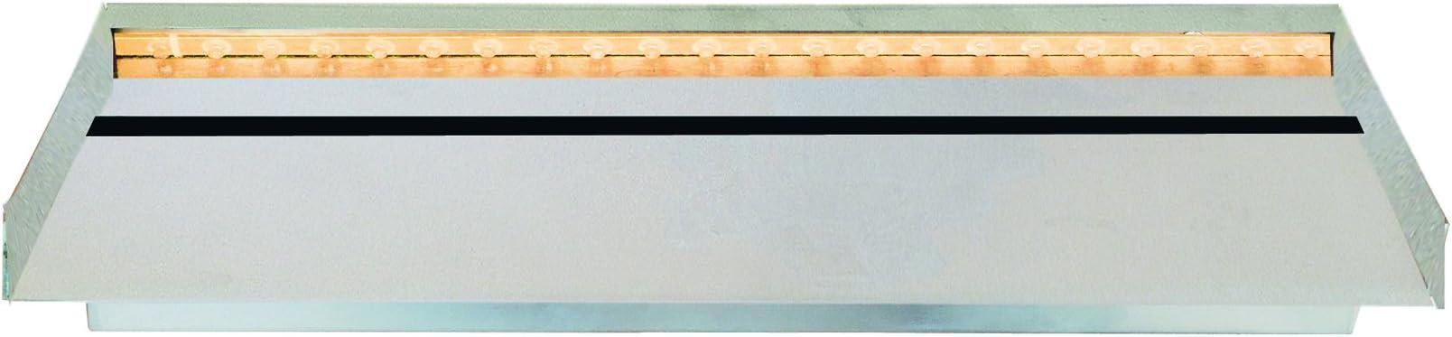 HEISSNER W 483-00 Cascata Unit/à 30CM acciaio inossidabile con luce LED