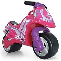 INJUSA Moto Correpasillos Neox Color Rosa para Niños