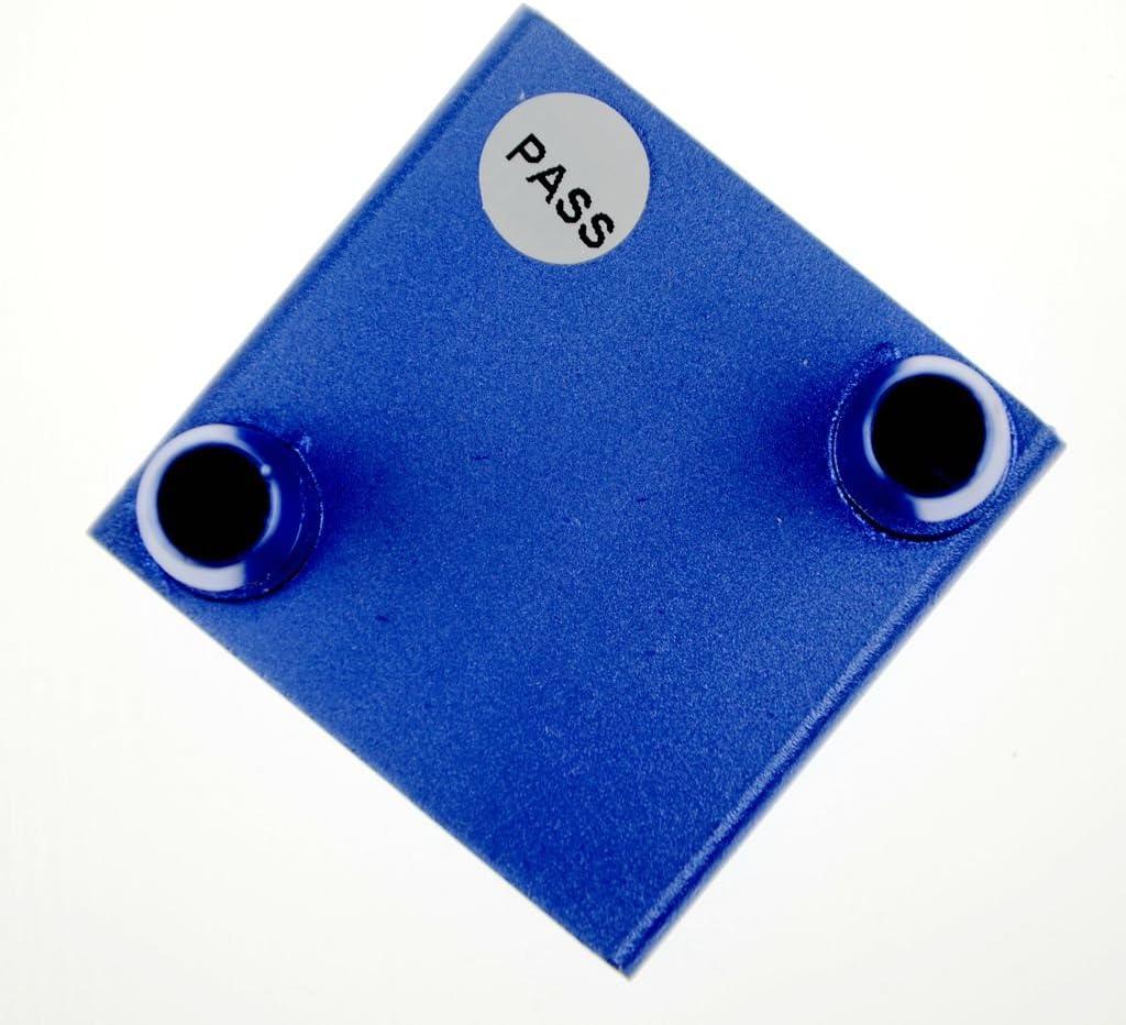 BXQINLENX Aluminum Water Cooling Block for CPU Graphics Radiator Heatsink 40x 40 2P