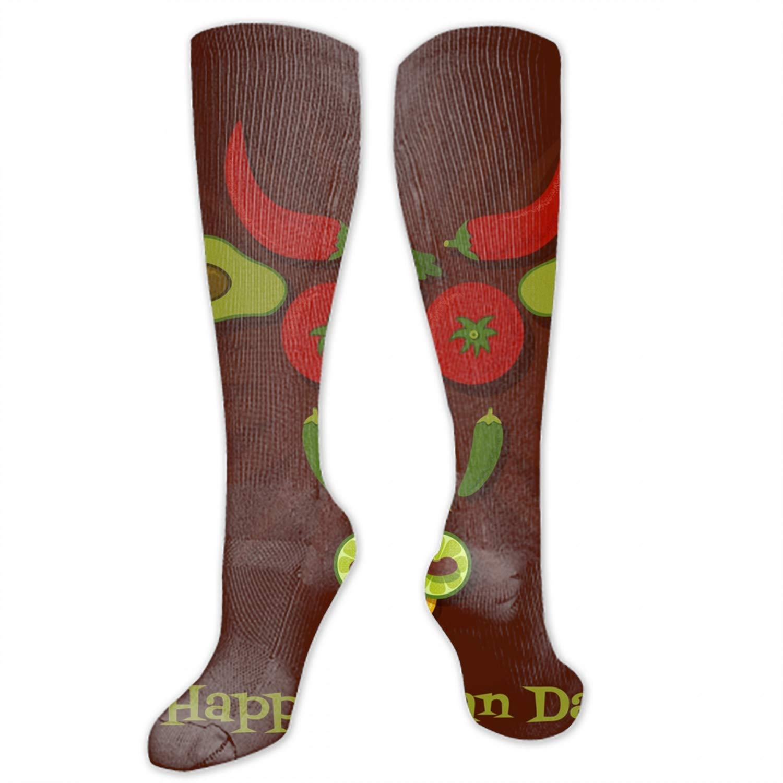 Unisex Art Patterned Casual Crew Socks Cute Unicorn Good for Gift Idea