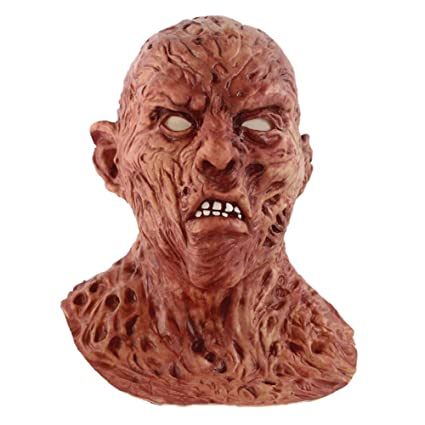 Bnmy Máscara Zombie Cospaly Halloween Máscara De Miedo Vístete Máscara De Terror