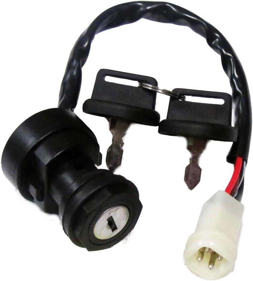 Ignition Key Switch For YAMAHA WARRIOR 350 YFM350 1987-1995 ATV
