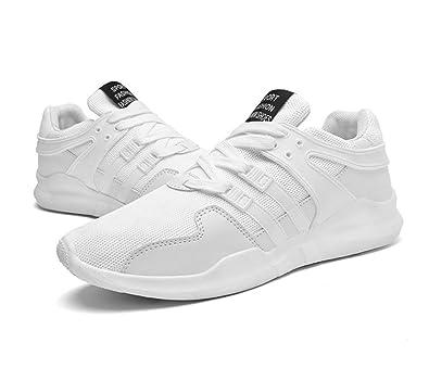 Elwow Men's Sport Fitness Trainers Running Gym Walking, Jogging Footwear  Mesh Shoes Sneakers (7UK
