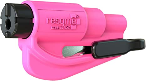 Yellow Resqme The Original Keychain Car Escape Tool Made in USA