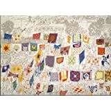 """Country Quilts Puzzle - """"A Day in Lancaster County"""" by B. Johnson - Over 500 Pieces"""