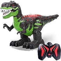 Ydq Modelo De Dinosaurio, Realista Caminando Rex Dinosaurio