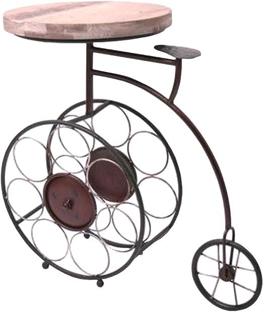 Aucune Mesa con botellero, diseño de Bicicleta: Amazon.es: Hogar