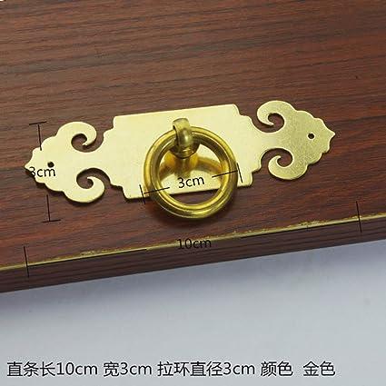 Amazon.com: Antique Knocker, Tiradores de Muebles de Cobre ...