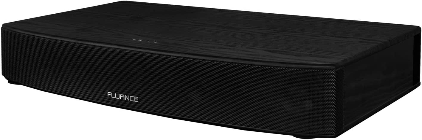 Fluance AB40 High Performance Soundbase TV Speaker System with 3D Surround Sound & Enhanced Bass Boost, Wide Angle Soundstage, Bluetooth aptX