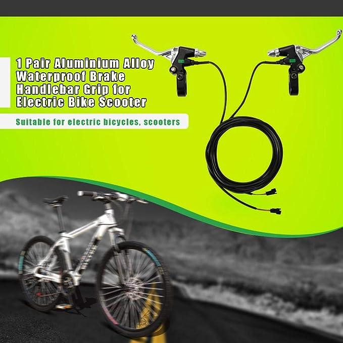 Azul Manetas Universal Aleaci/ón de Aluminio de Bicicleta monta/ña Keenso 1 par de Manetas de Freno de Bicicleta