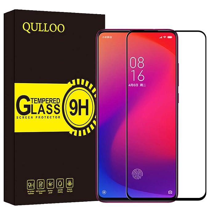 18 opinioni per QULLOO Vetro Temperato Pellicola Protettiva per Xiaomi Mi 9T / Xiaomi Mi 9T PRO,