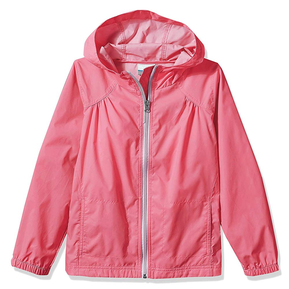 Girl's Switchback Light Rain Coat Hoodie Jacket Fairytale Light Pink Size XS