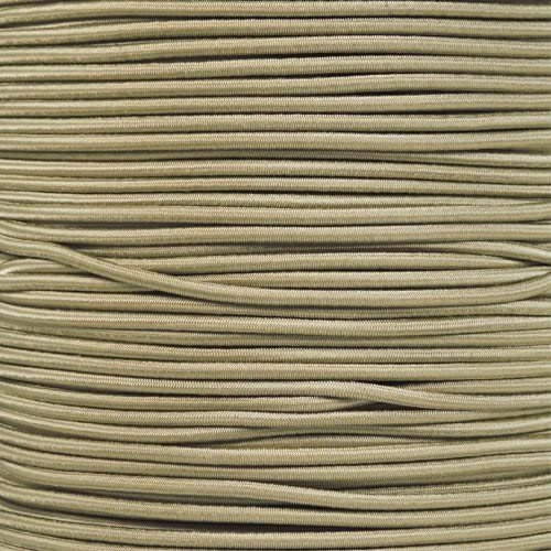"5//16 1//2 inch Crafting Stretch String 10 25 50 /& 100 Foot Lengths Made in USA 1//8/"" 1//16 PARACORD PLANET Elastic Bungee Nylon Shock Cord 2.5mm 1//32 1//4 3//16 5//8 3//8"