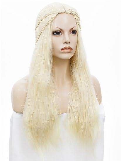 ASVP Shop® Traje de Cosplay peluca para juego de tronos Daenerys ...