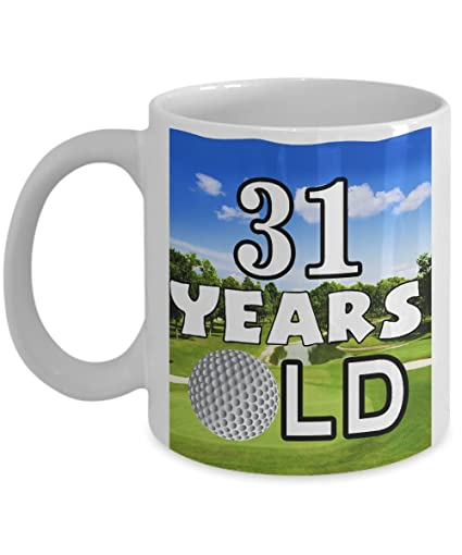 31th birthday mugs 11 oz funny golf coffee mug golf lovers gift for women