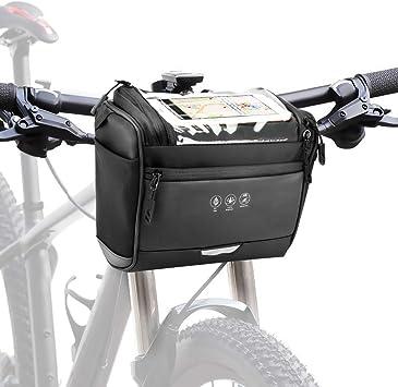 CestMall 3.5L Bolso Bicicleta Impermeable Ciclismo para Bicicleta ...
