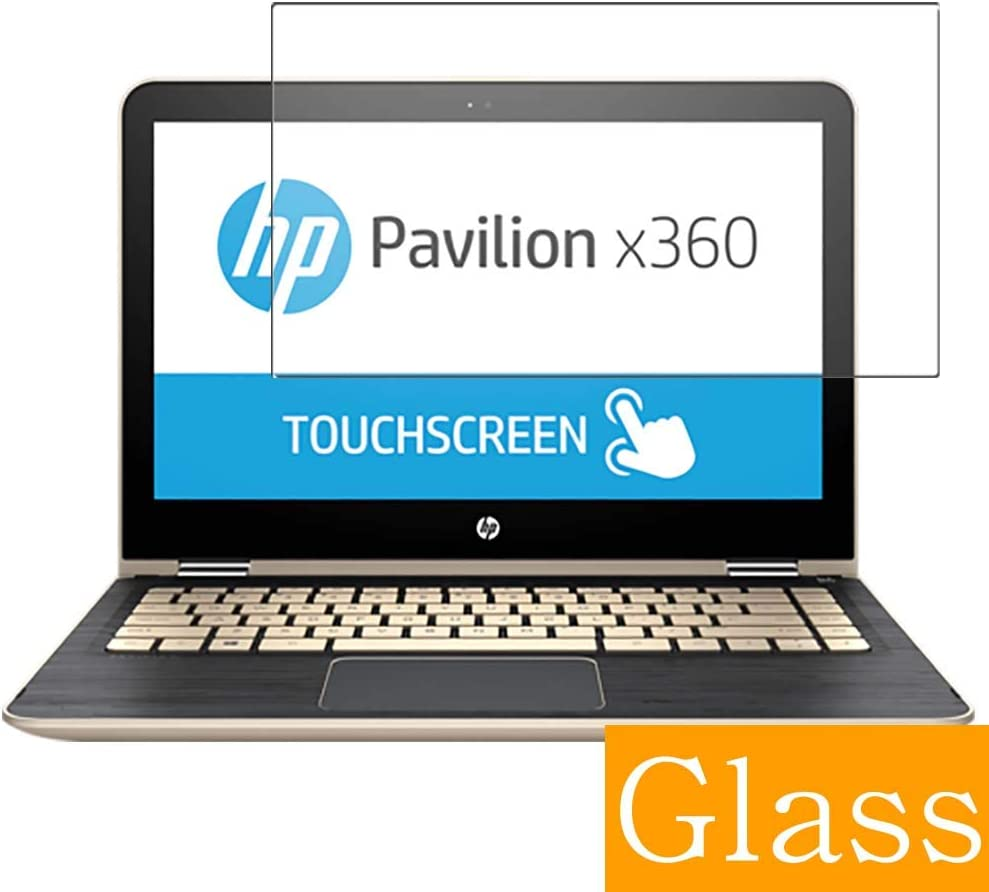 "Synvy Tempered Glass Screen Protector for HP Pavilion x360 m3-u100 / u103dx / u101dx 13.3"" Visible Area Protective Screen Film Protectors 9H Anti-Scratch Bubble Free"