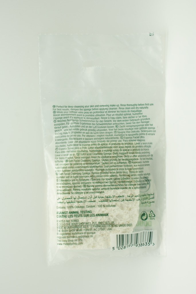 The Body Shop Soft Facial Sponge Schwamm Amazon De Beauty