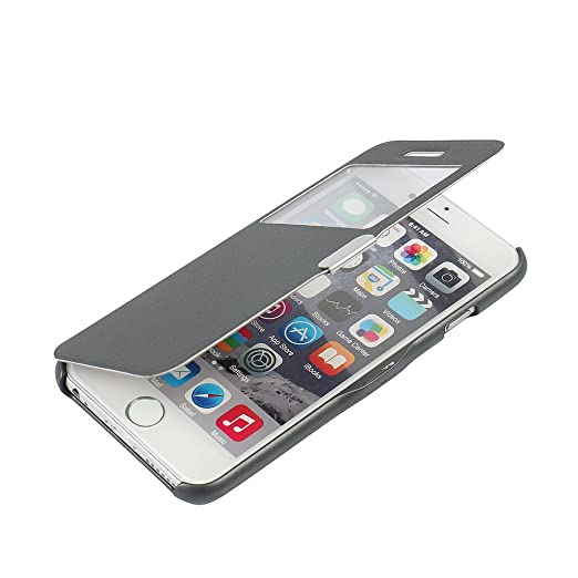35 opinioni per Cover iPhone 6s, Cover iPhone 6, MTRONX Custodia Case Finestra Vista Ultra
