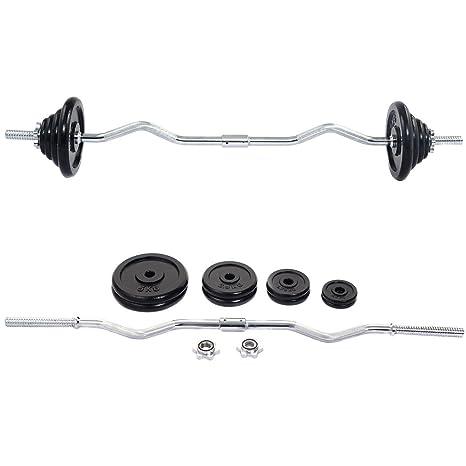 52 kg peso juego de mancuernas pesas gimnasio elevación ejercicio ajustable pintada de negro
