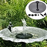 floating faucet fountain - Solar Panel Power Water Floating Pump Fountain Pool Garden Plants Watering Kit