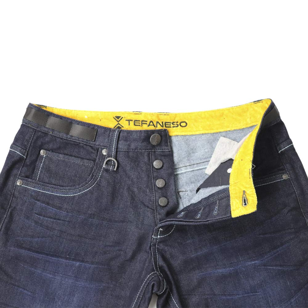 Thermal Jeans Made with Thermolite Technology. These are an Ideal Stretch Winter Jeans (Dark Blue, XXL) by TEFANESO (Image #3)