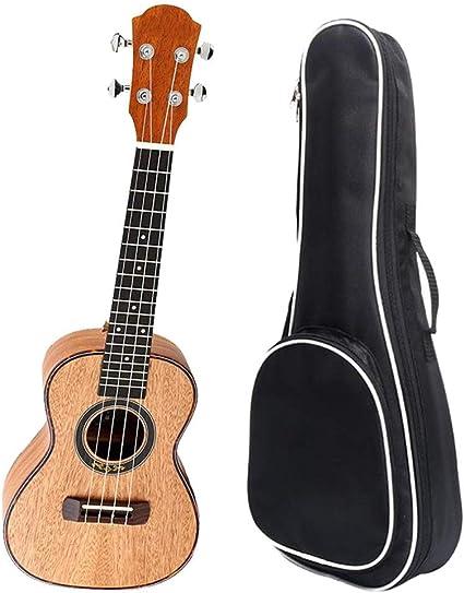 Ukelele 23 pulgadas de concierto Ukulele Uke Hawaii Guitarra de ...