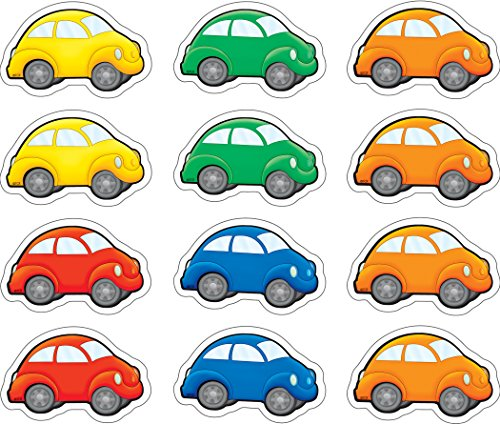 Teacher Created Resources Cars Mini Accents (5421)