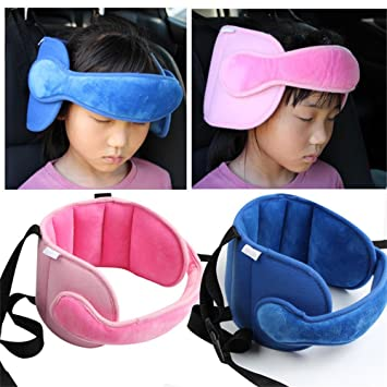 Kids Child Car Seat Head Support Neck Relief Safety Adjustable Holder Sleep Pillow