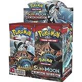 Pokemon TCG 81249 Sun & Moon-Crimson Invasion Booster Box, 36 Pack