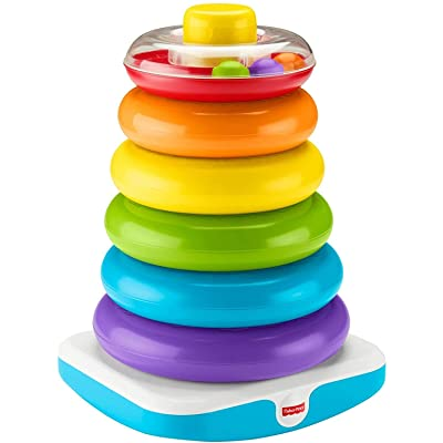 Fisher-Price Giant Rock-a-Stack: Toys & Games
