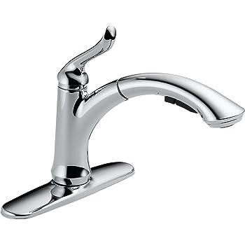 Delta Faucet Linden Single-Handle Kitchen Sink Faucet with