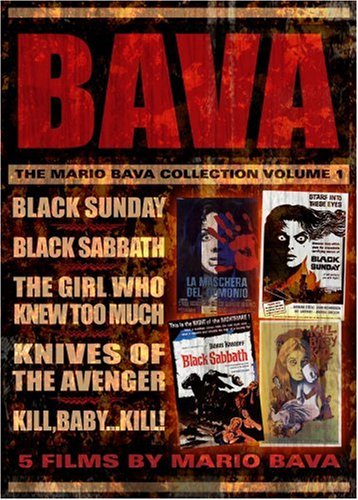 The Mario Bava Collection: Volume One (Black Sunday / Black Sabbath / The Girl Who Knew Too Much / Kill Baby Kill / Knives of the (Best Anchor Bay Entertainment Dvd Releases)