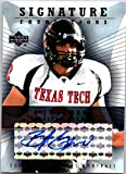 2004 Upper Deck Foundations Signature Foundations #SFBJ B.J. Symons Autograph Texas Tech