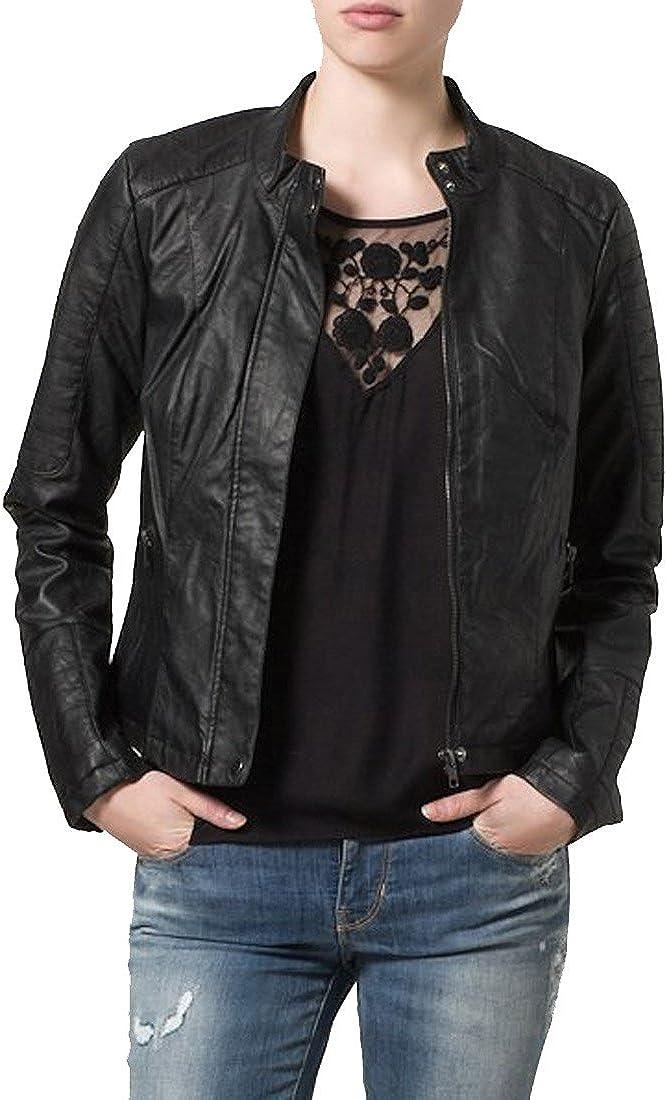 Kingdom Leather Brand New Genuine Soft Lambskin Leather Jacket For Womens Designer Wear XW069