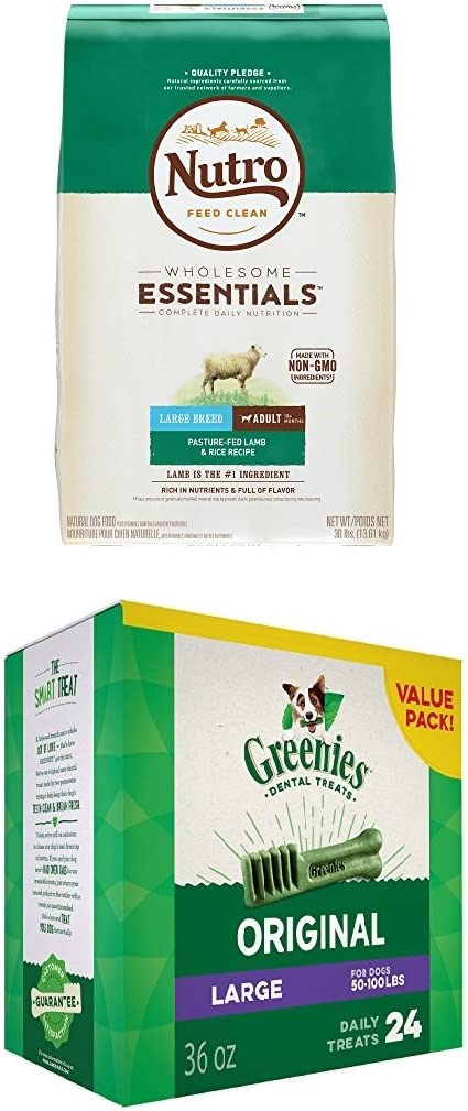Nutro Lamb & Rice And Greenies