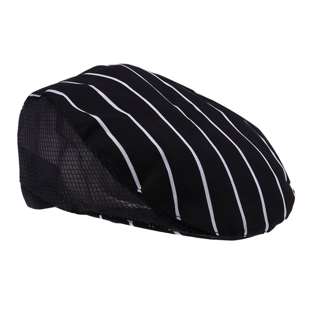 nero Sharplace Cappello da Cuoco Coppola Baker Cucinare Cappello Unisex in Cotone