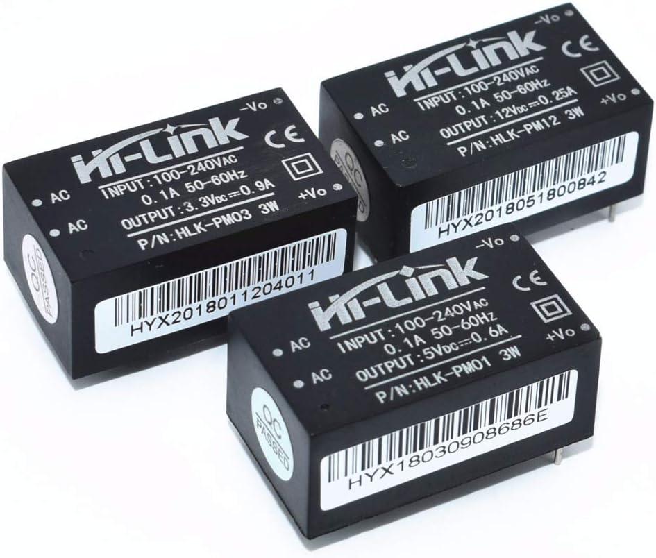 12V Mini modulo di Alimentazione Intelligente Interruttore Domestica Power Module Pandiki HLK-PM01 HLK-PM03 HLK-PM12 AC-DC 220V a 5V 3.3V