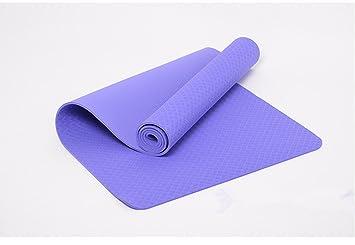Duhud single-deck TPE Yoga Mat Elegance ejercicio Fitness ...
