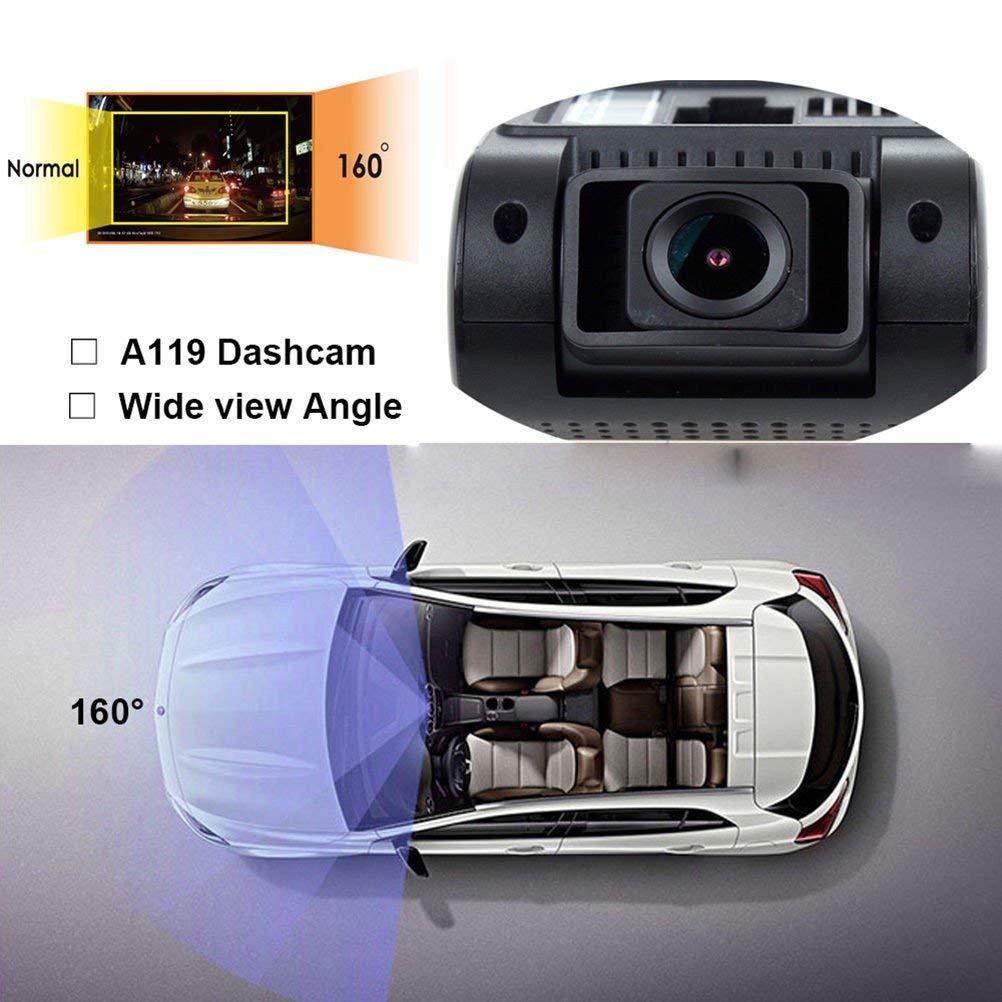 Boblov VIOFO A119 V2 Version Dash Cam Capacitor Novatek 96660 OV4689 Cmos Lens Car Dashboard Camera Video Recording