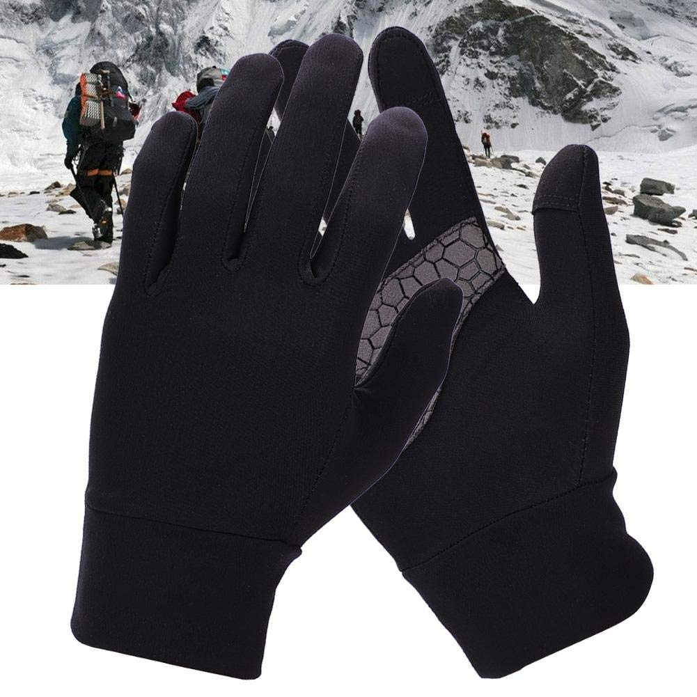t/érmicos Ligeros de Invierno Alomejor Guantes de Deportes de Invierno Gruesos Guantes de Dedos completos para Deportes al Aire Libre Calientes