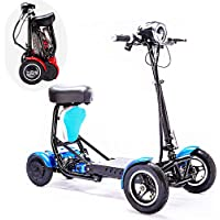 SSCJ Scooter portátil de Movilidad de Viaje, Bota