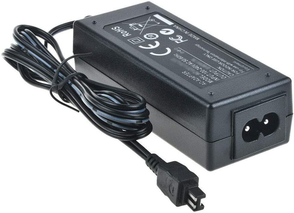 AC//DC Battery Power Charger Adapter Compatible with Sony Camcorder DCR-DVD803 E DCR-DVD310 E