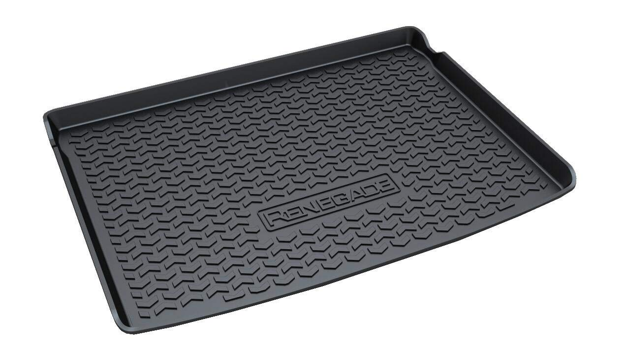 Vesul Rear Trunk Cargo Cover Boot Liner Tray Carpet Floor Mat Compatible with Jeep Renegade 2015 2016 2017 2018 2019