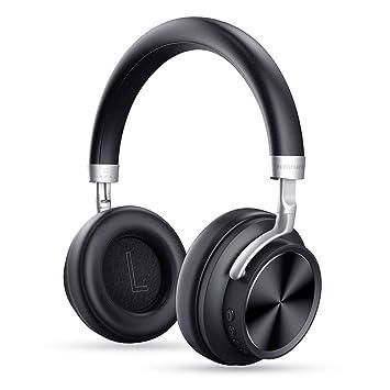 Auriculares Bluetooth, Elegant Cascos Inalámbricos con Micrófono 12 Horas de Reproducción para iPhone Samsung S8 Huawei Xiaomi iOS Android Tableta PC ...