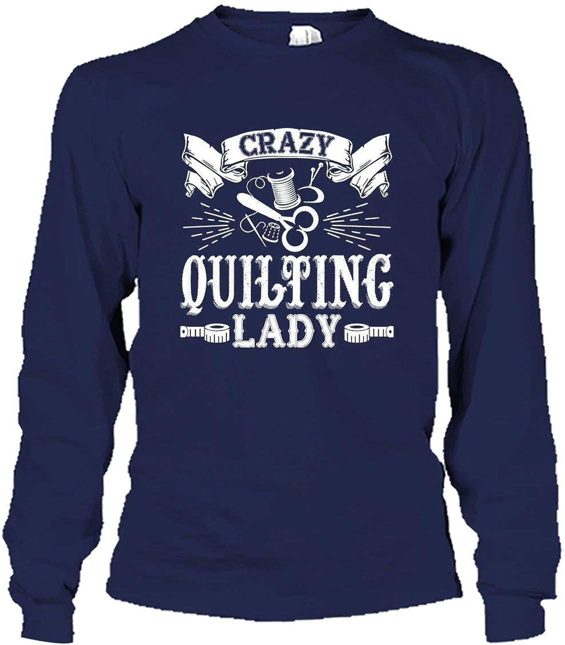 Women Six Banana Crazy Quilting Lady Long Sleeve T Shirts for Men
