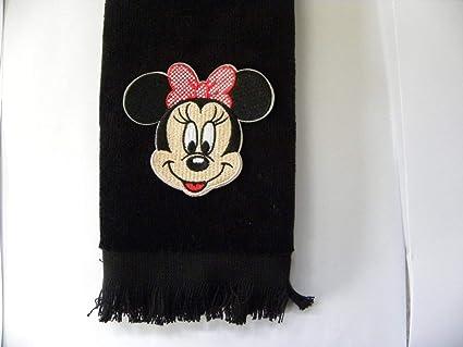 Amazon minnie mouse hand towel vintage applique black
