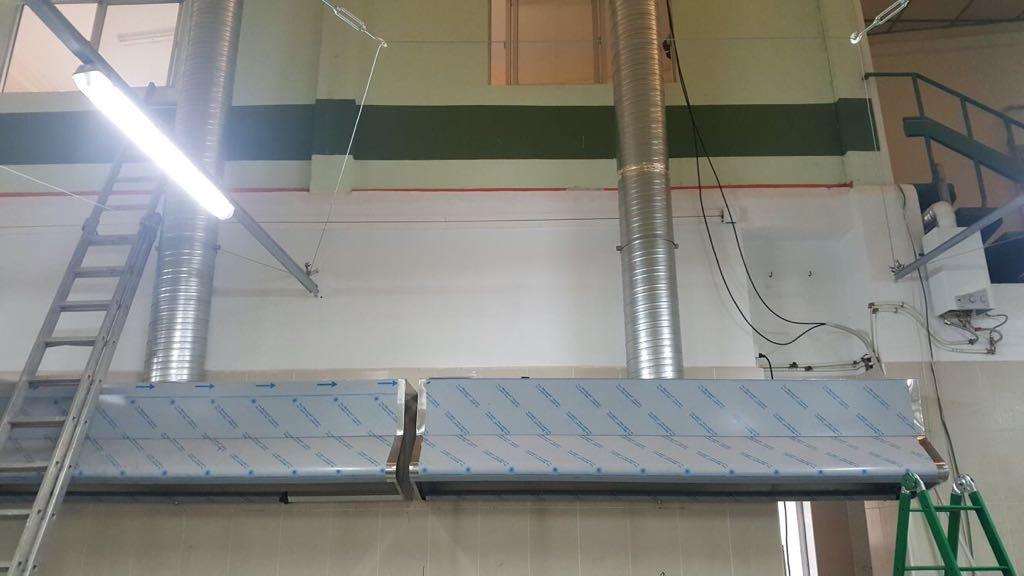 campana industrial extractora 1200x800x700 mm acero inoxidable: Amazon.es: Industria, empresas y ciencia
