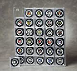30 puck display case - 30 Hockey Puck Qube Acrylic Display Case (Qubes Not Included)